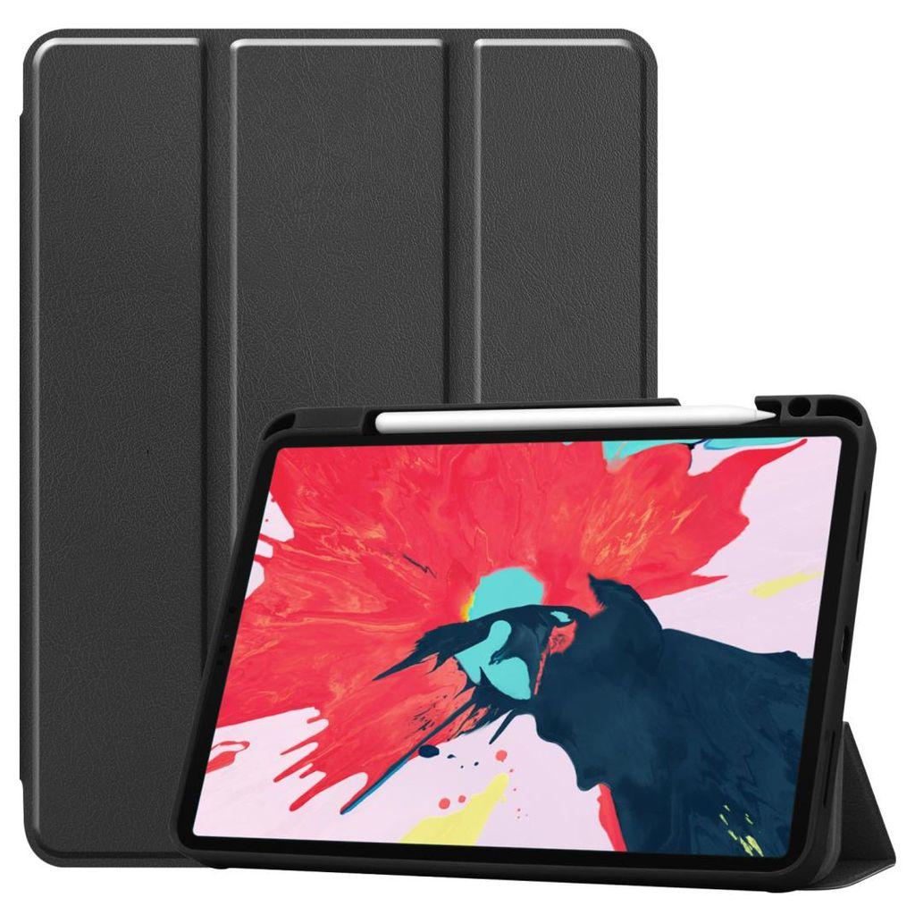 Schutzhülle mit Stifthalter für Apple iPad Pro 20 Zoll 20 Case Schutz  Hülle Stand Schwarz