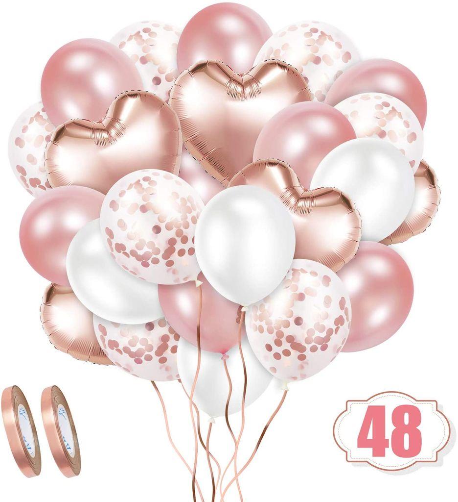 Rosegold Luftballon Set, 8 Stück   Kaufland.de