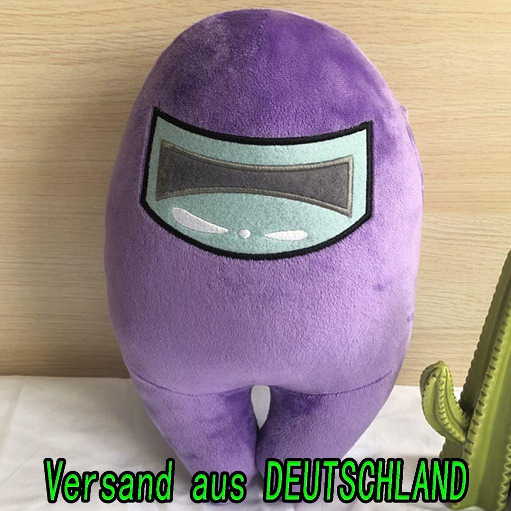 Among Us Unter uns Spielzeug Plüschtier Stofftier Kuscheltier Kinder Figur 20cm