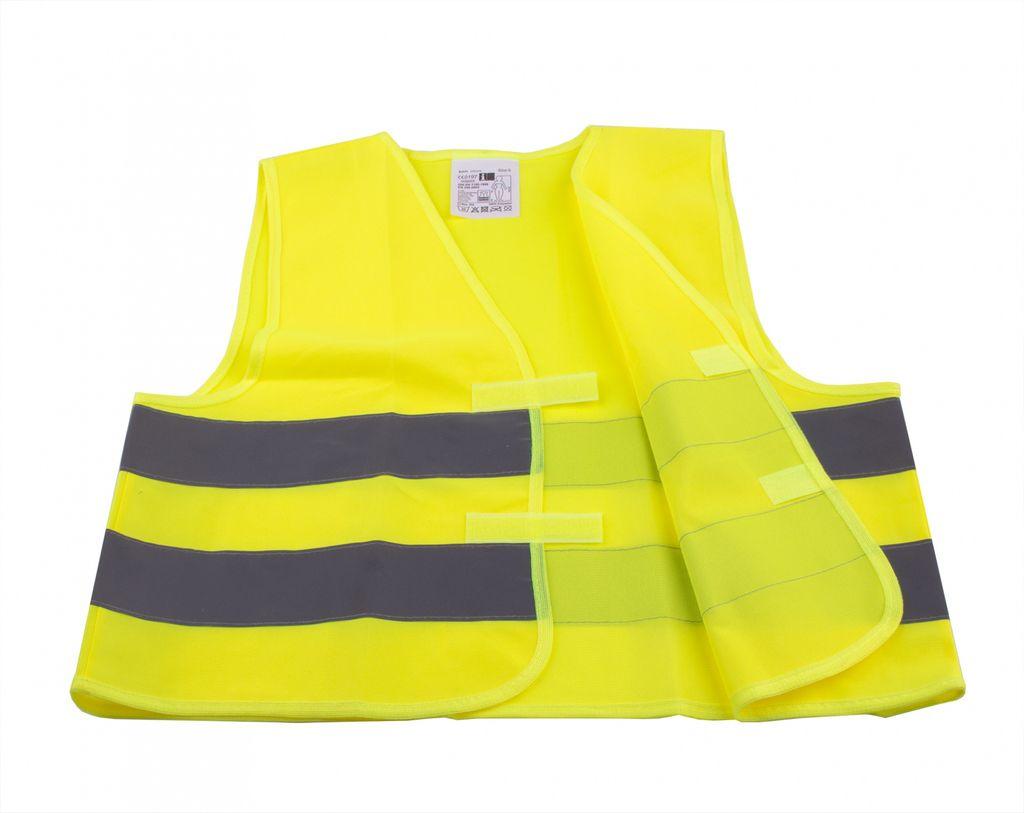 2x Sicherheitswarnweste Warnweste Sicherheitsweste gelb Weste KFZ Auto PKW