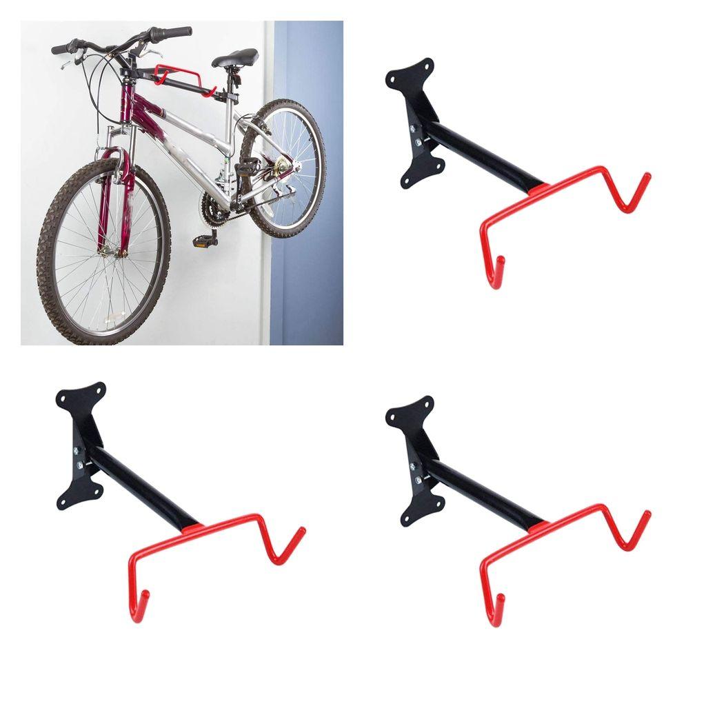 2 x Fahrradwandhalter klappbar Bike Rack Haken Halter Wandhalter Wandhalterung