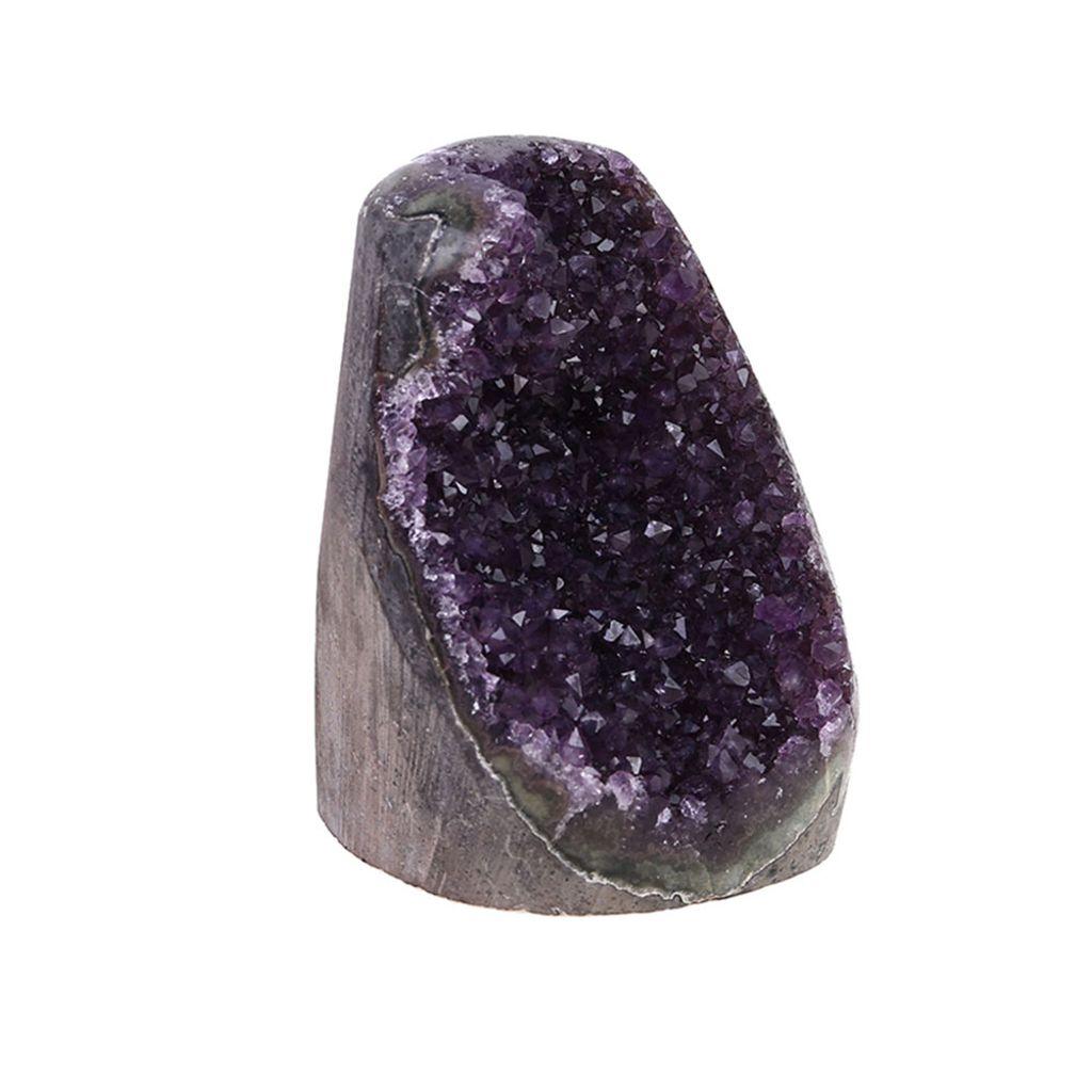 50g Natürliche Amethyst Punkt Quartz Kristall Rock Stein Cluster Heilung Gift
