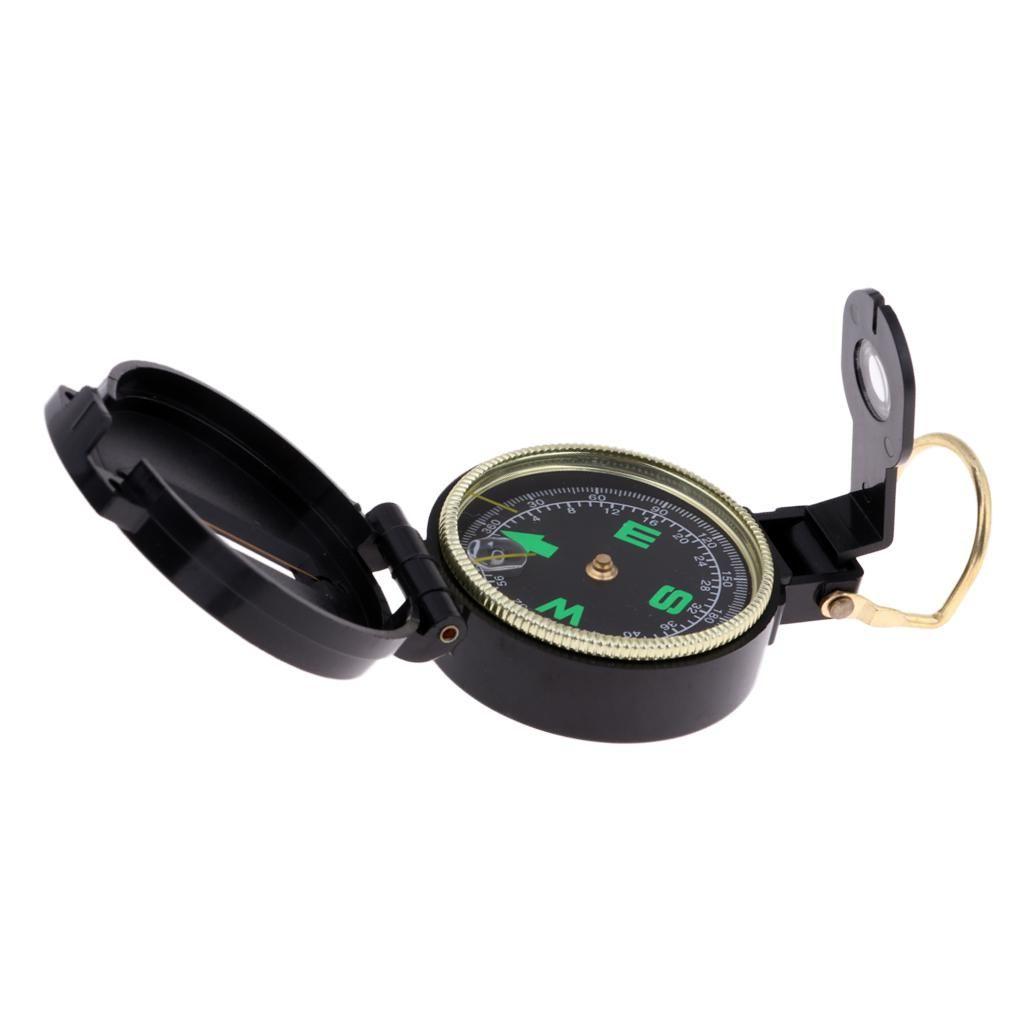 Vintage Metall Kompass Outdoor Gear Tool zum Wandern Camping Jagd Taschenkompass Mini Uhr Kompass mit Ring