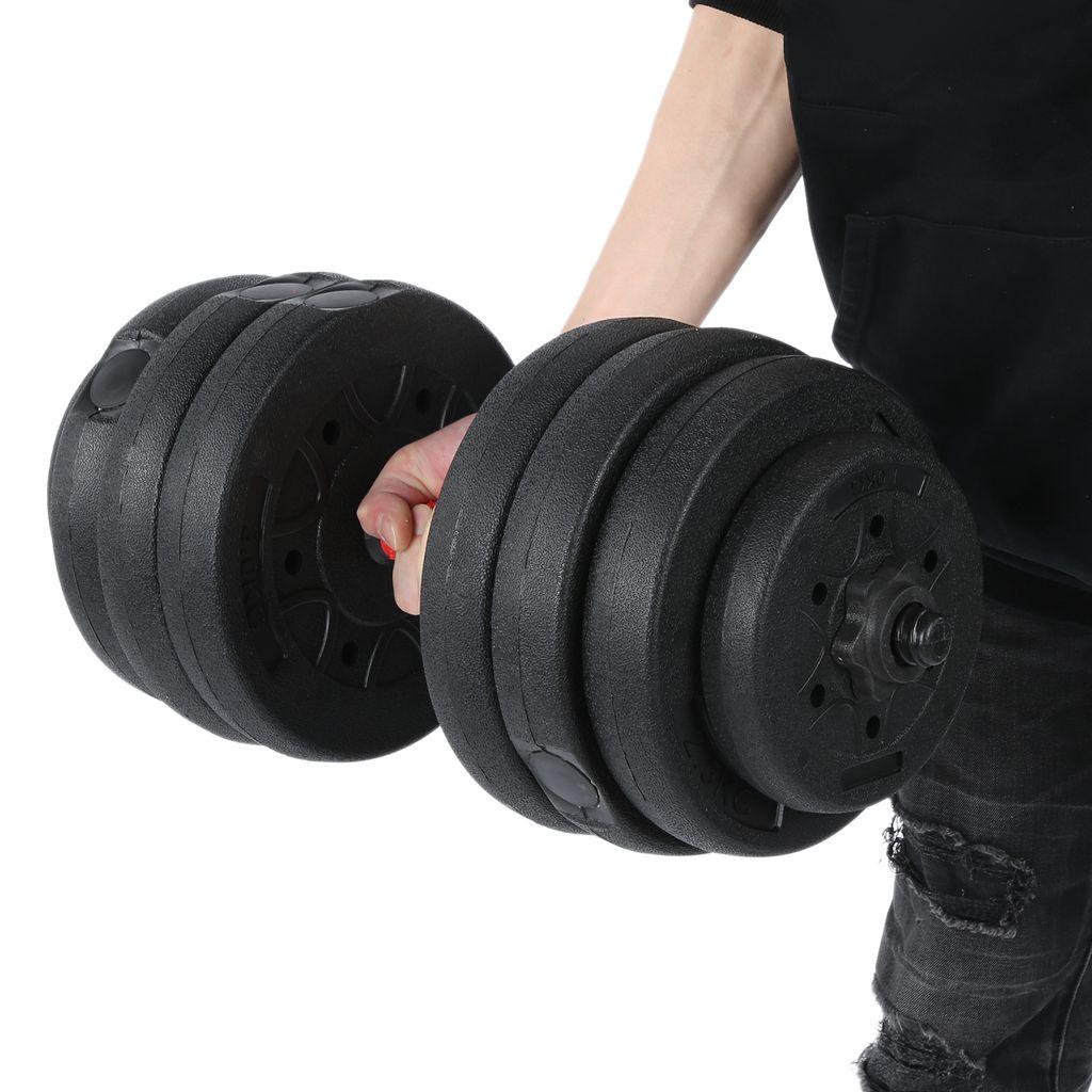 Profi Hantel Kurzhantel Set Krafttraining Gewichte Hantelset Kurzhanteln 20KG DE