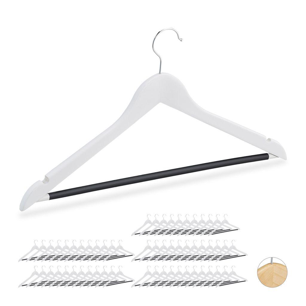 20 X Kleiderbügel Set Bügel Hemdenbügel Garderobenbügel Wäschebügel Metall