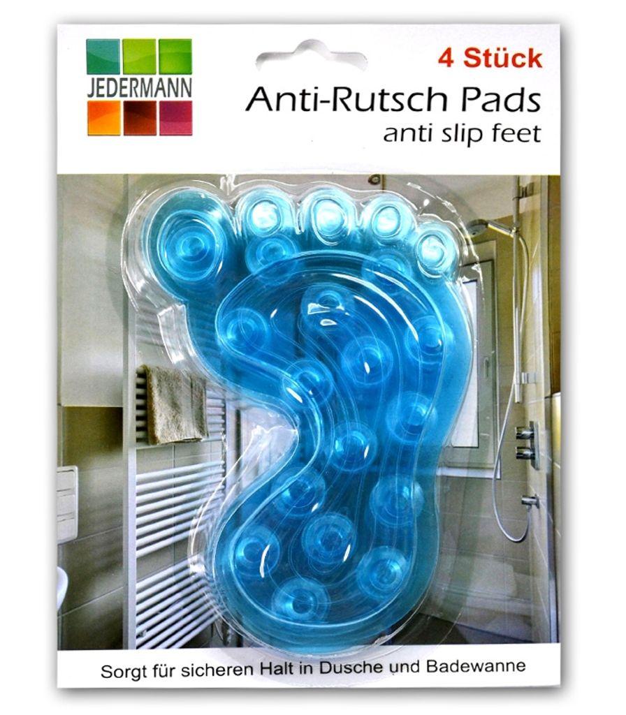 Gaetooely 24 St/ück Anti-Rutsch Pads f/ür Badewanne//Dusche Transparente und rutschfeste Aufkleber Selbstklebende Badewannen Sticker