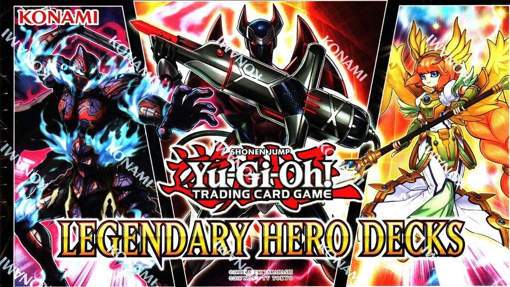 Yu Gi Oh Legendary Hero Deck Deutsch Kaufland De