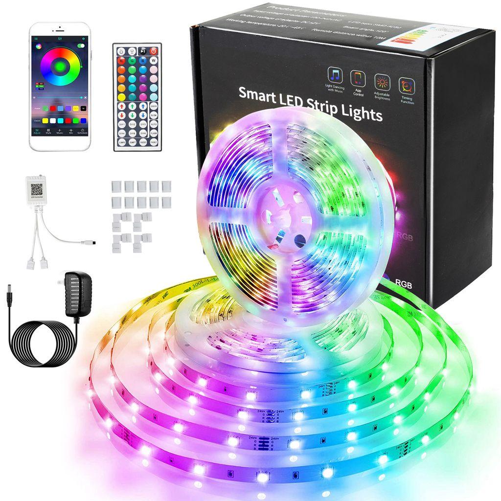 1 Stück 20M RGB LED Streifen Stripe 5050SMD 60Leds//Meter Lichtleiste Wasserdicht