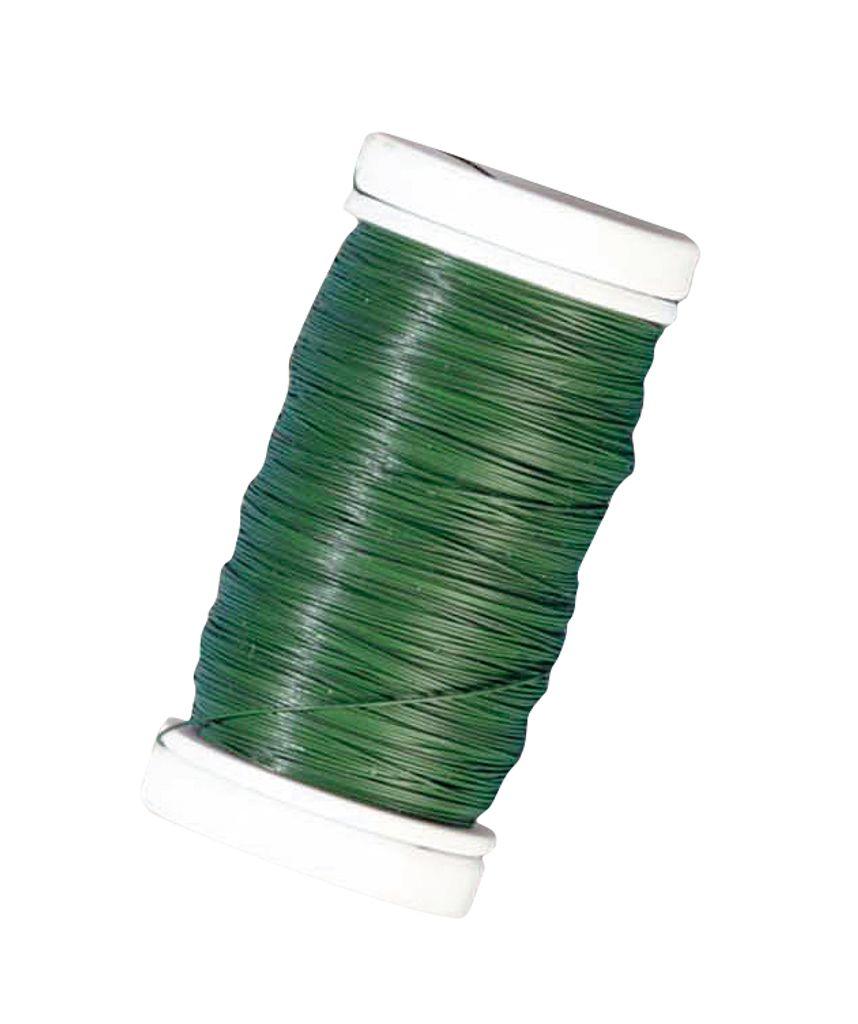36 cm Grün Länge ca 0,8 mm 30 Stützdrähte