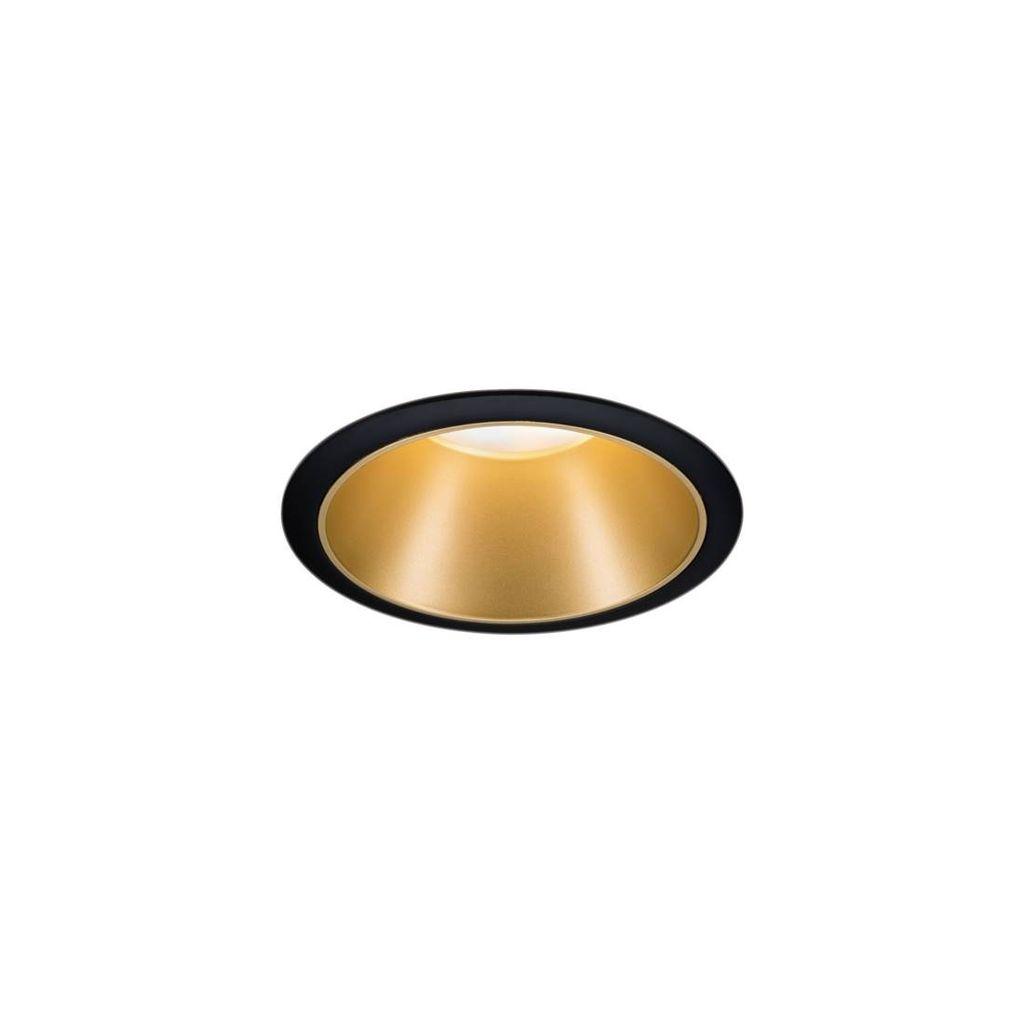 Paulmann EBL LED Cole 1x6,5W Schwarz//Gold 3-Stufen-dimmen Lichtschalter Ip44