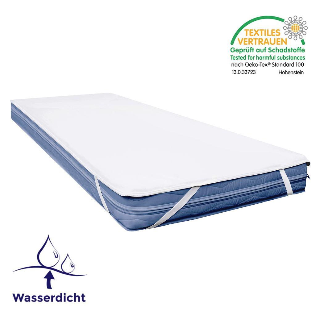 105+ Matratzenauflage 12x12   Matratzenauflage wasserdicht, Wasserabweisende  Auflage für Matratzen Mister Sandman Matratzenschoner 12 x 12 cm ...