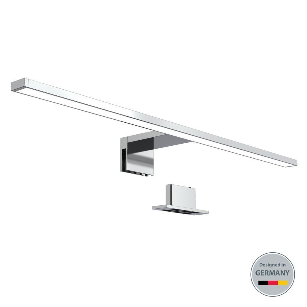 LED Spiegelleuchte Badezimmer Leuchte Schminklicht inkl. 20W 7200 Lumen  LED Platine Klemmleuchte neutral weiß 20 V IP20 B.K.Licht