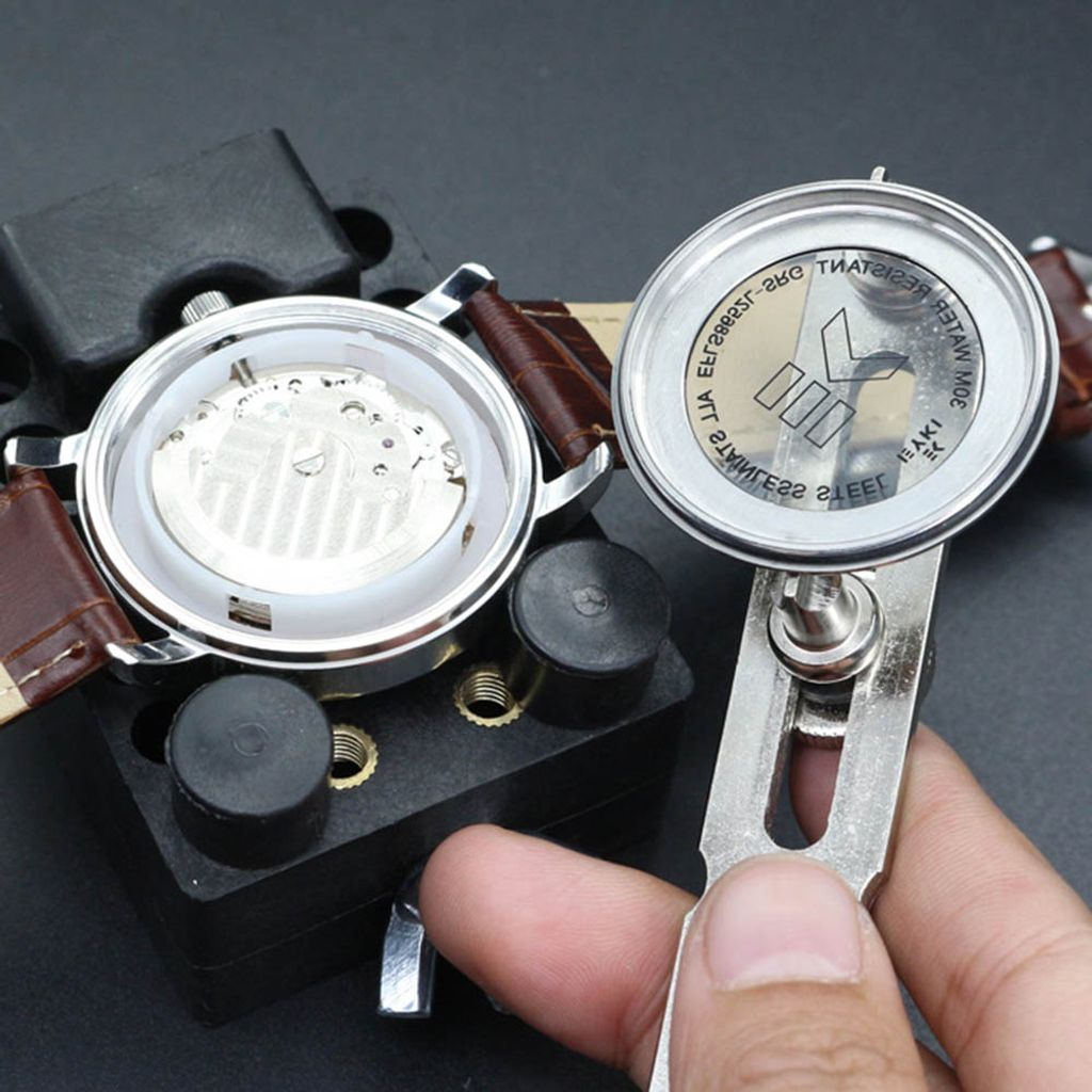Gehäuseöffner Uhrenöffner Uhrenwerkzeug Uhren Gehäuse Öffner mit Schraubdeckel
