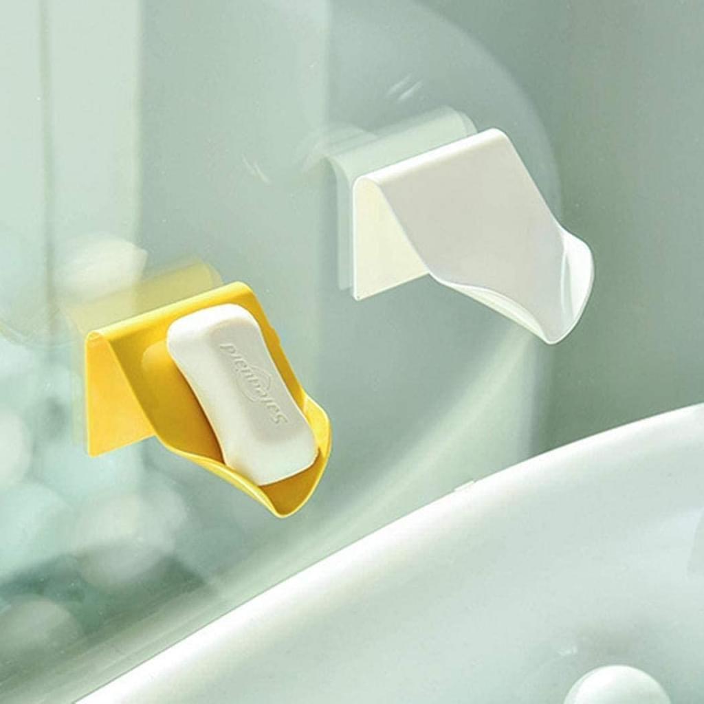 Seifenschale Seifenhalter Ohne Bohren Wandmontage Seifenkiste Seifenablage  für Dusche Badenzimmer Küche Toilette Blau