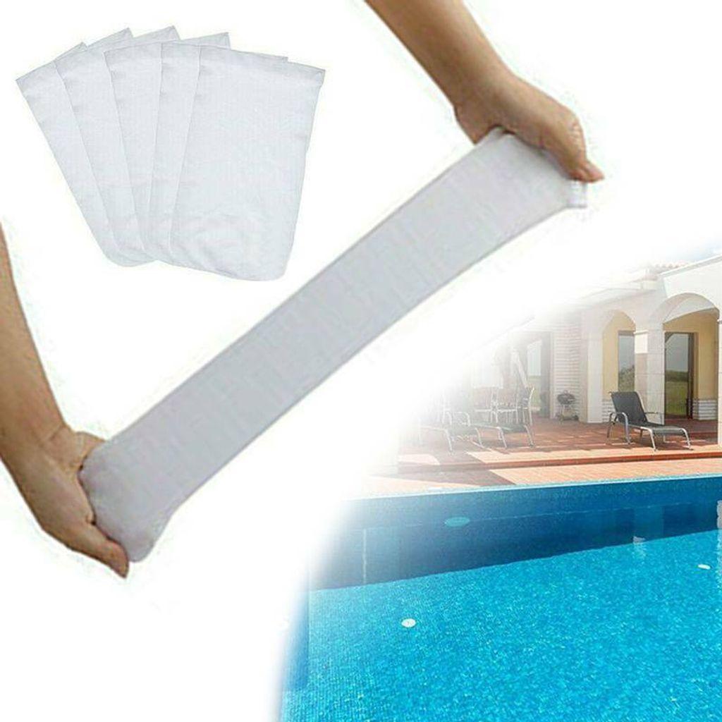 10St 30PC Elastic Pool Skimmer Socken Filter Ersatz Sparer F/ür Korb Pools PETSOLA 10//20 Wei/ß