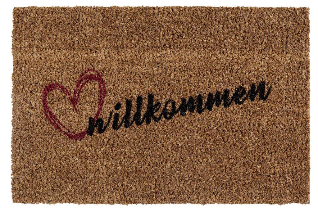 Design Fußmatten aus Kokosfaser Motiv Matte Fußmatte Türmatte Schmutzfangmatte