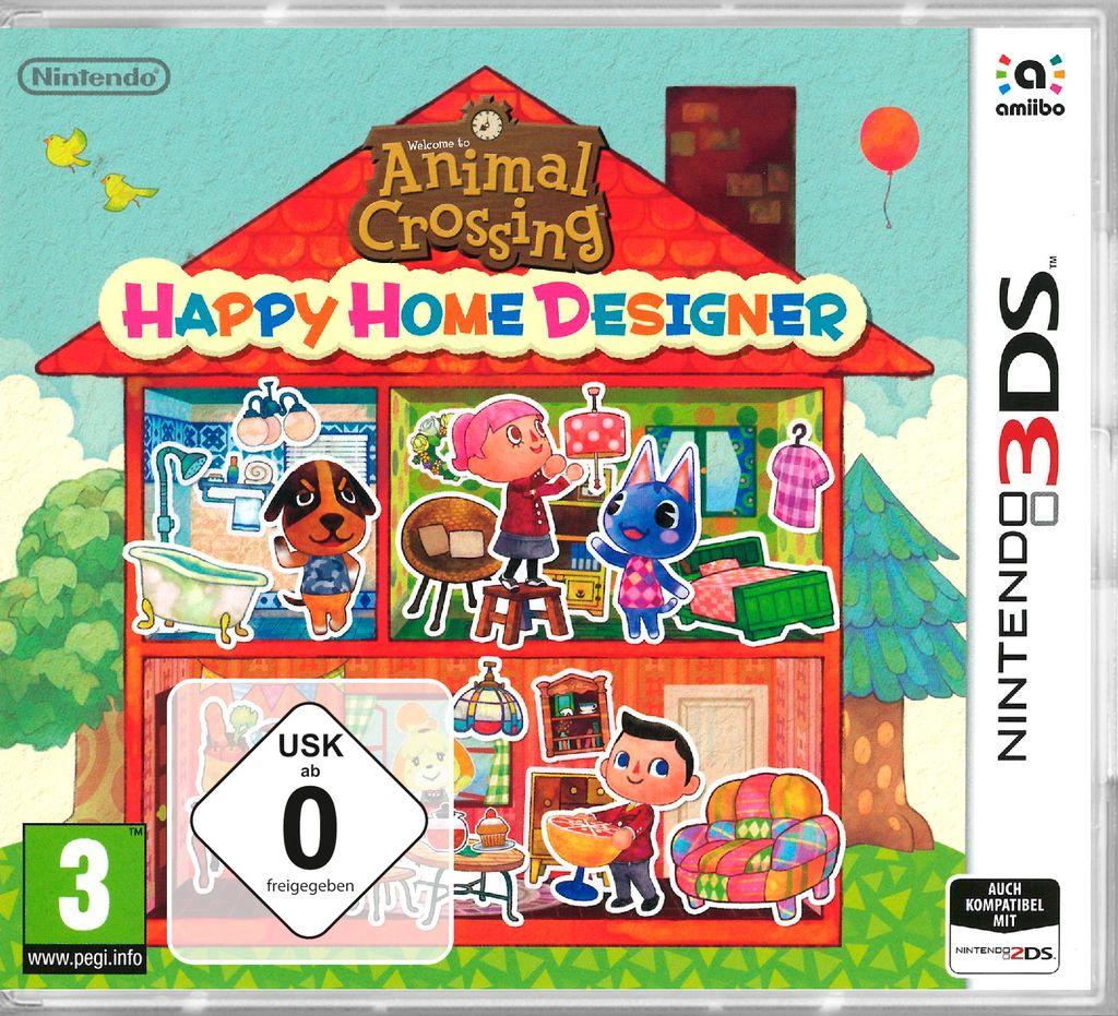 Animal Crossing Happy Home Designer   Nintendo 20DS