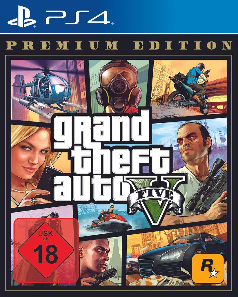 Grand Theft Auto V Premium Edition   Konsole PS5