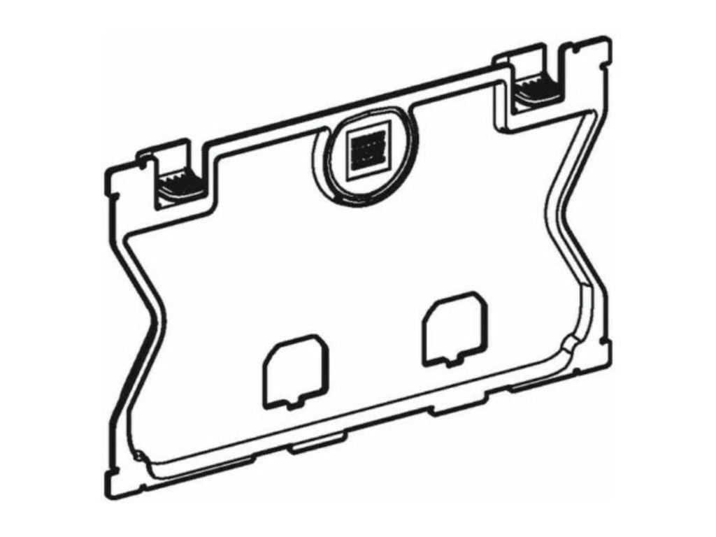 GEBERIT Schutzplatte zu UP-Spülkasten 240.512.00.1