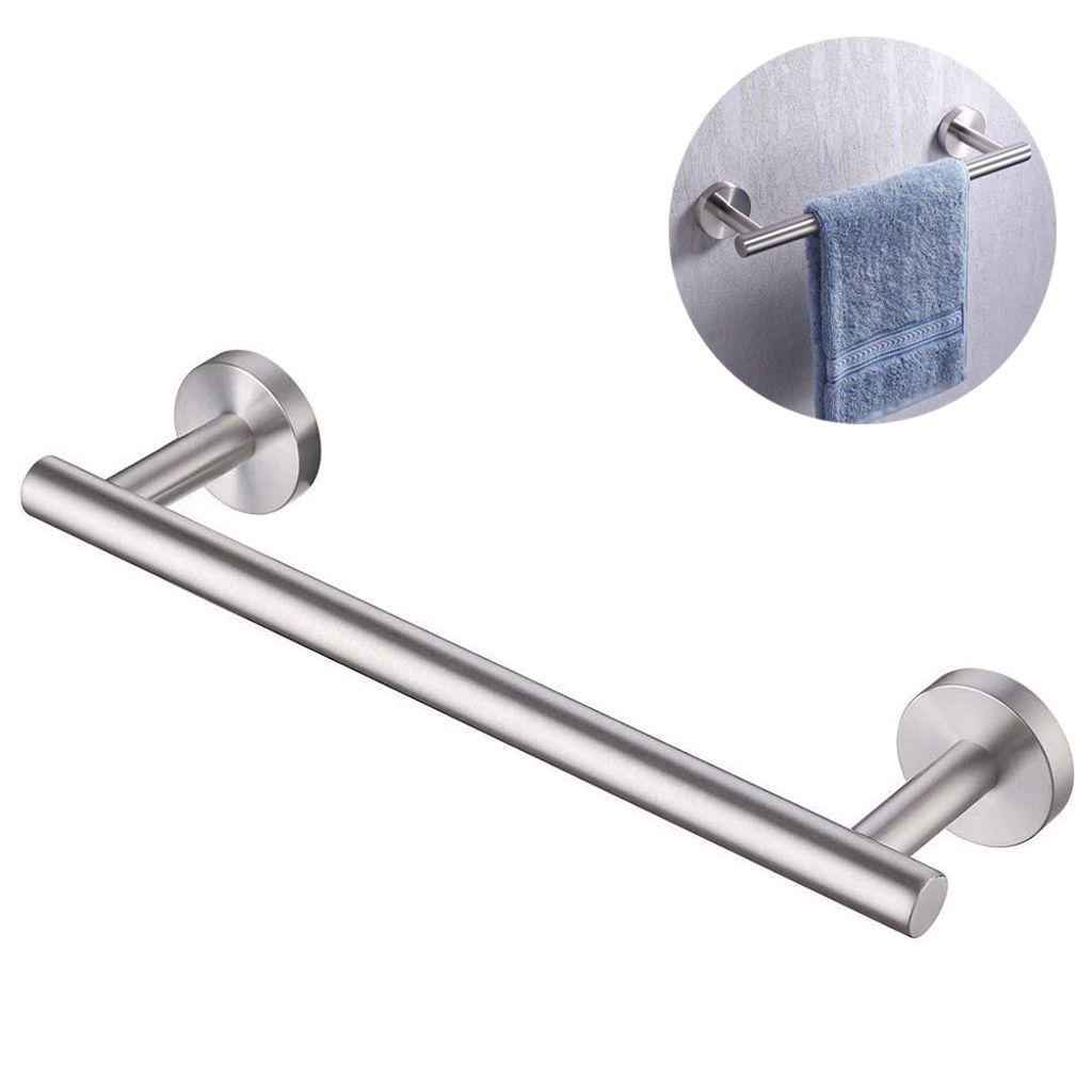 Handtuchhalter Bad Ohne Bohren, Handtuchhalter Selbstklebender  Handtuchstange Edelstahl 20cm