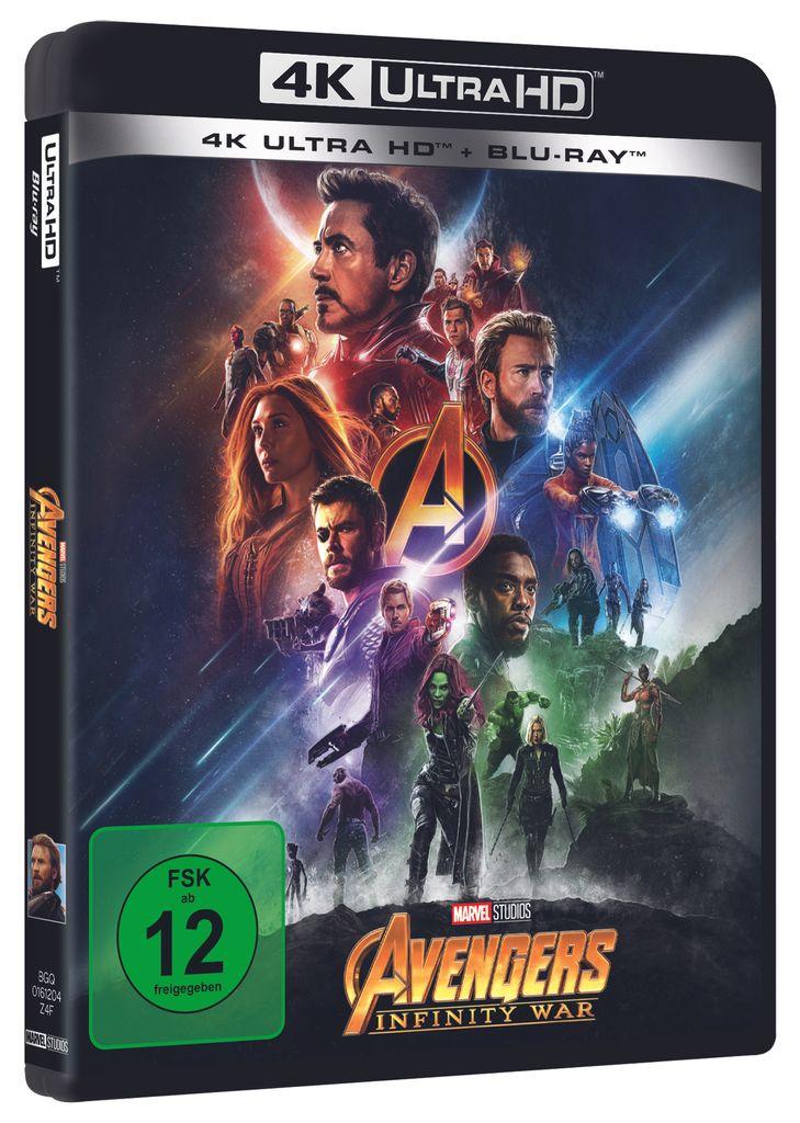 Avengers Infinity War 4k Uhd Film Kaufland De