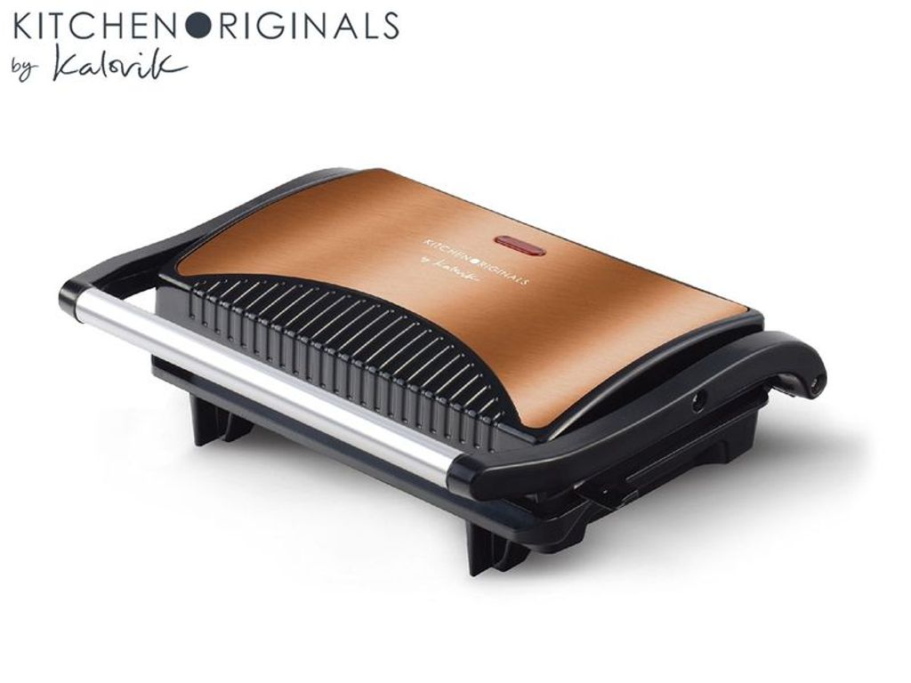 Korkmaz Tostkolik Toaster Silber Grill Sandwichmaker Granit  Kontaktgrill
