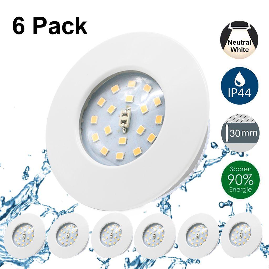 Kimjo LED Einbaustrahler Ultra Flach 20W   Kaufland.de