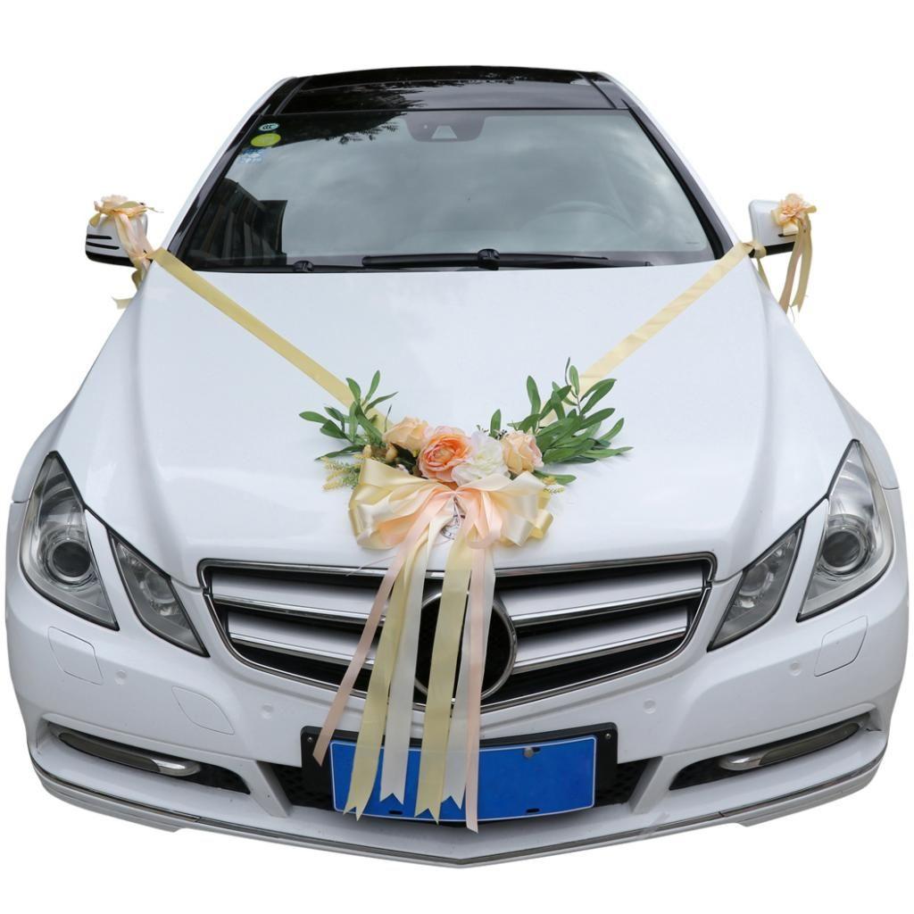 Hochzeit schmücken auto Eine große