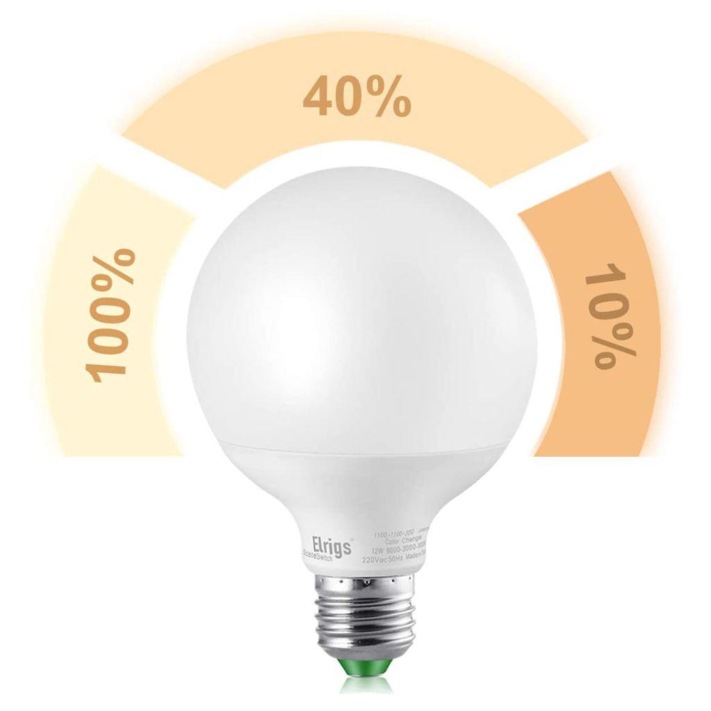 E27 LED Birne Leuchte A60 Leuchtmittel 12W 1050Lm 230V warm weiß 3000K