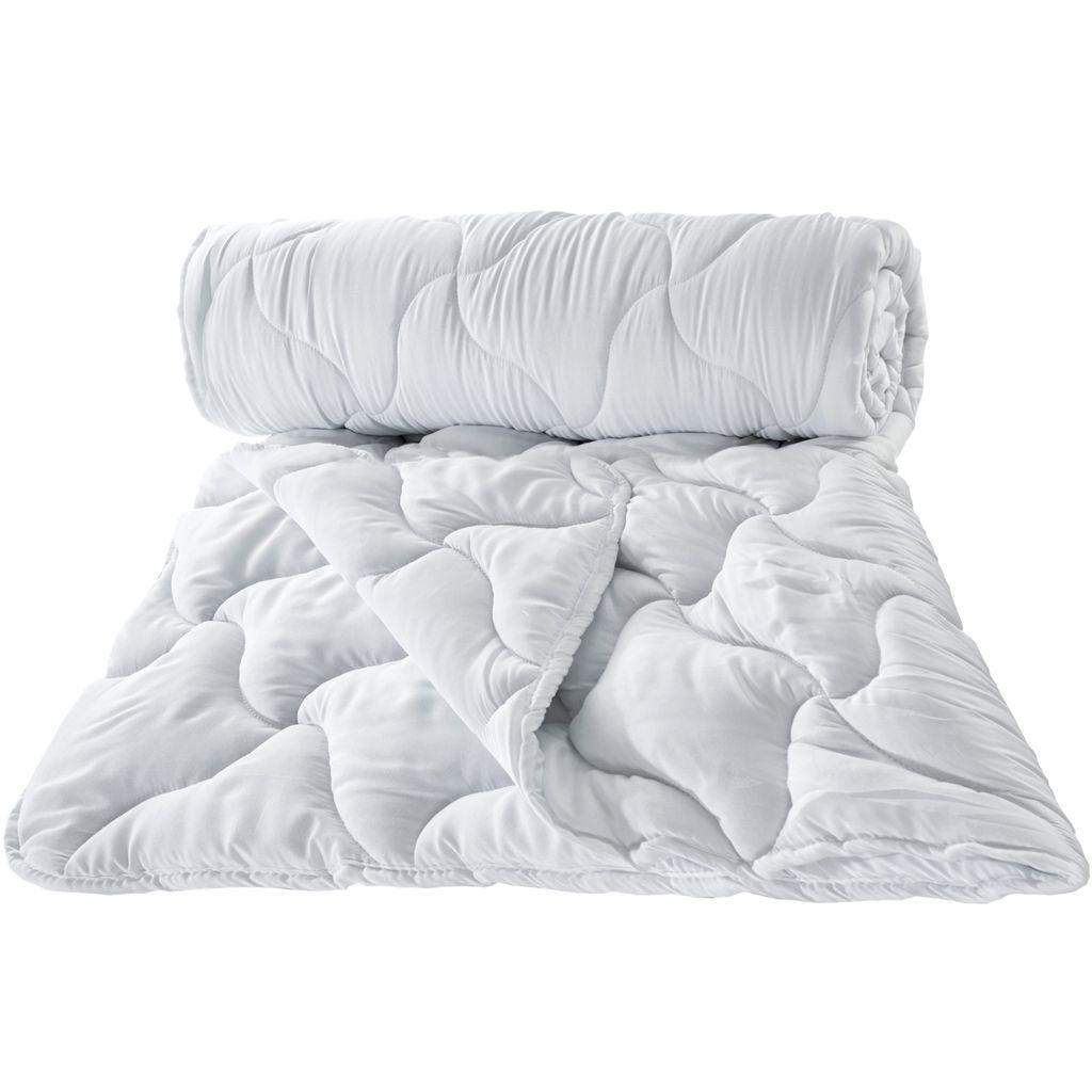 Steppdecke Hypoallergen 12 x 12 cm Bettdecke aus Microfaser  Ganzjahresdecke   warme Schlafdecke für Allergiker