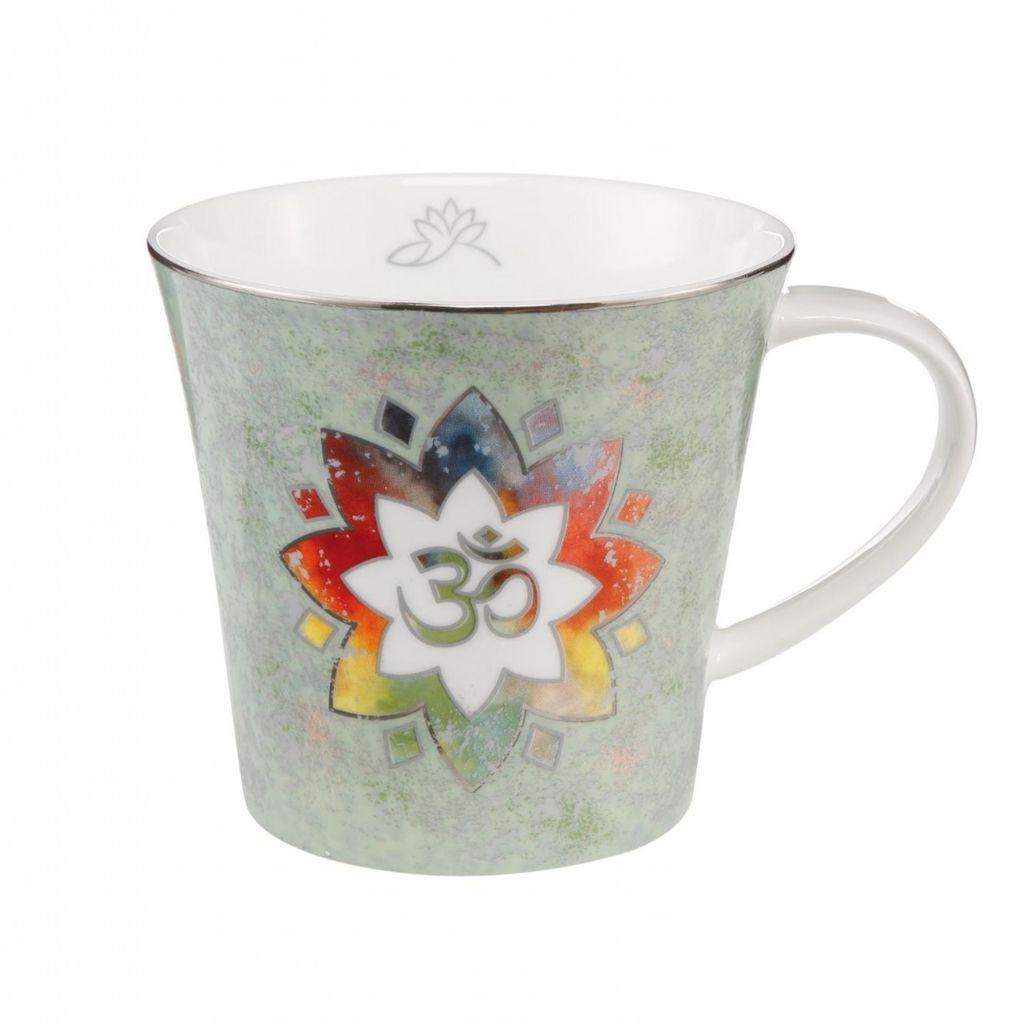 Goebel Porzellan   Blume des Lebens Weiß Coffee-//Tea Mug  Lotus