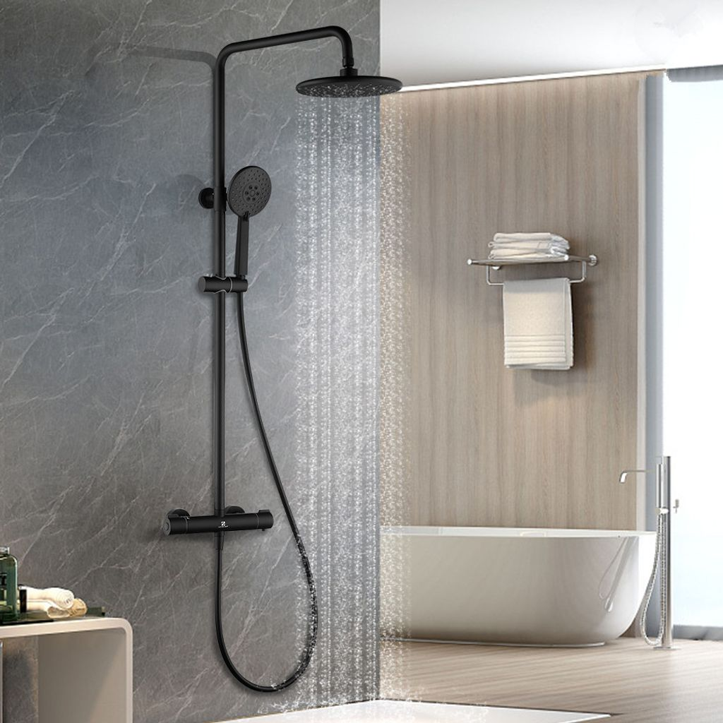 Duschsystem Regendusche Duschset Duschgarnitur mit Handbrause Badezimmer Dusche