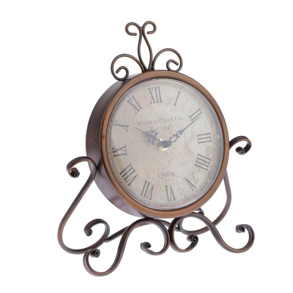 Schrankknopfhalter Klassische Uhren Uhren Kabinett Kn/öpfe Metall dekorative B/ücherregal Kn/öpfe f/ür Teenager 4er-Set 1.26x1.18x0.66in