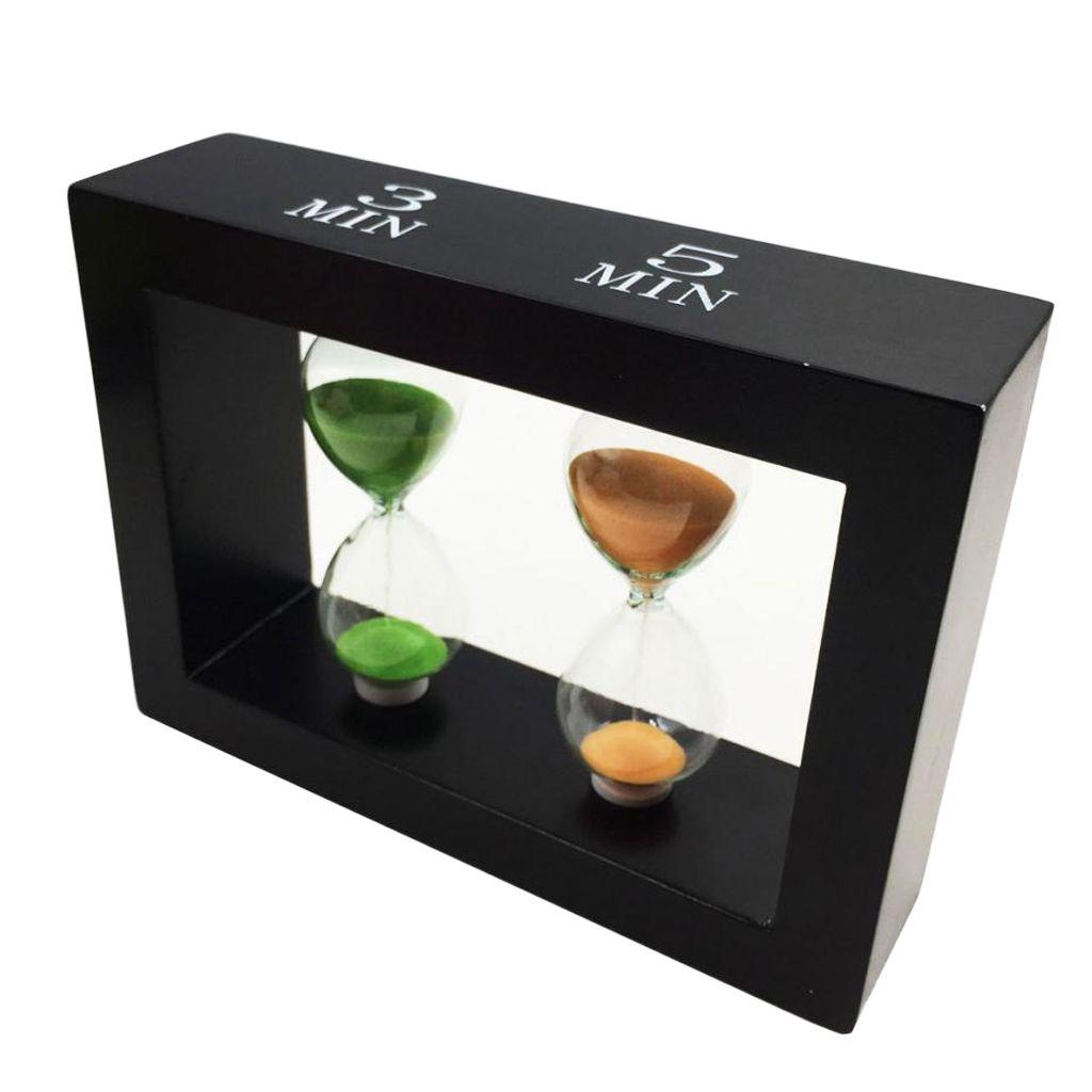 1 set Haus Sanduhr Sandclock Sand Uhren Eieruhr Kurzzeituhr