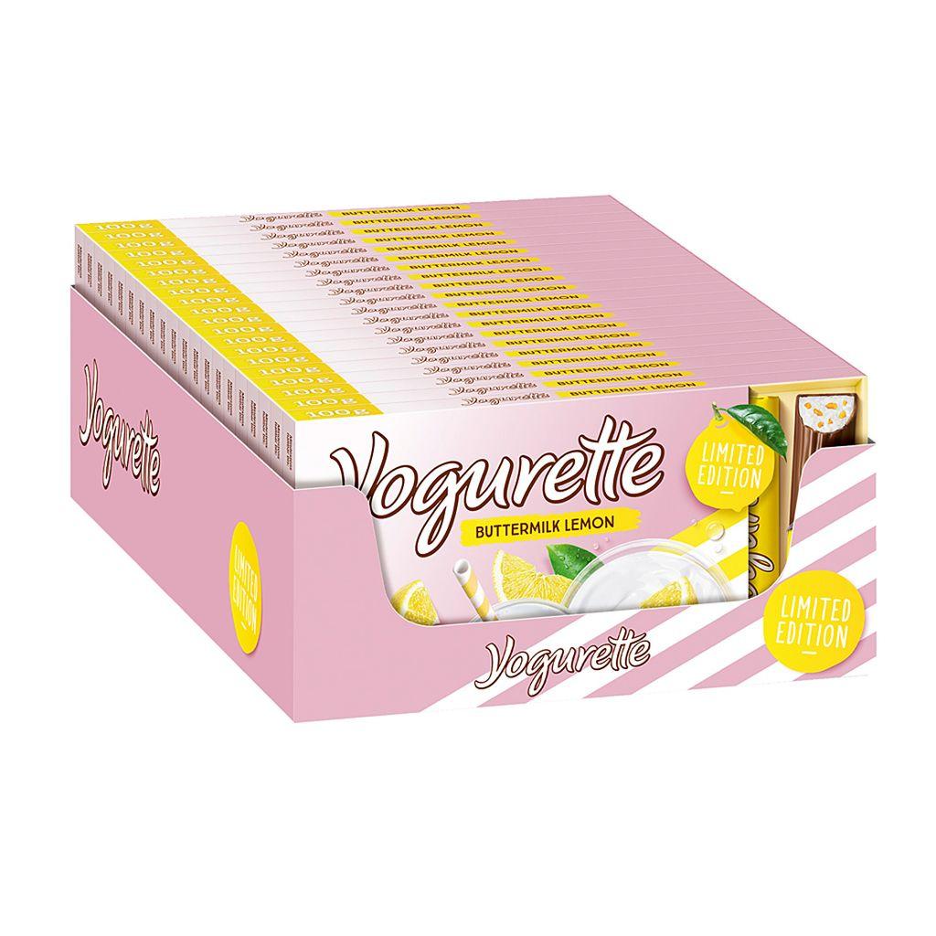 Yogurette Buttermilch Lemon Limited Edition 8 Kaufland De