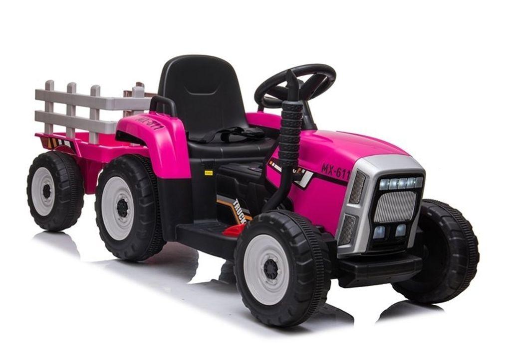 Traktor Fernsteuerung Kinder elektro traktor mit Anhänger 2MOTOREN Fernbedienung