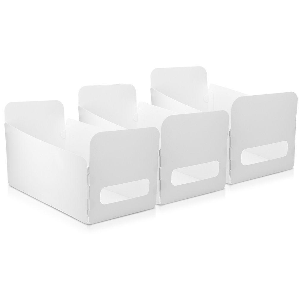 Navaris Aufbewahrungsbox Aufbewahrungskiste 20er Set   Box Organizer zur  Aufbewahrung aus Kunststoff   Kiste Behälter für Badezimmer oder Küche