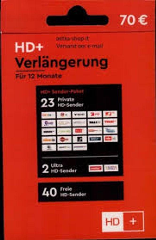 Verl/ängerung f/ür 12 Monate HD