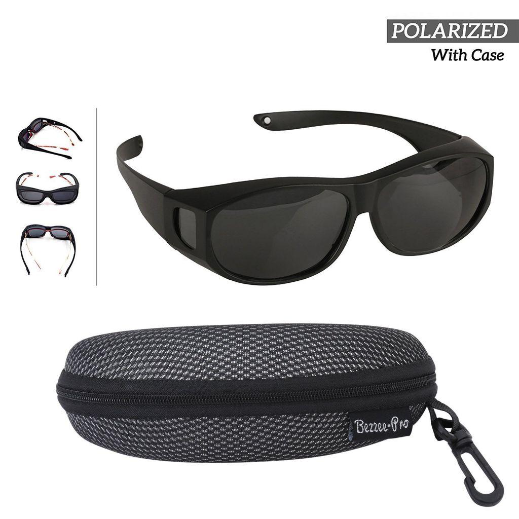 Männer /& Frauen Sonnenbrille Überziehbrille für Brillenträger Polarisiert