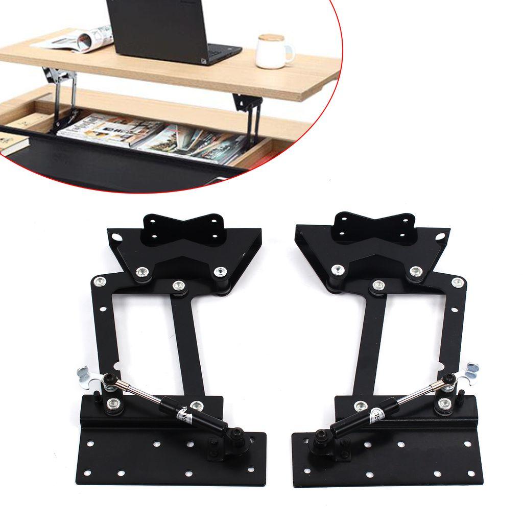 1 Paar Möbelscharnierfeder Klapp Lift Up Feder Scharniere Couchtisch Mechanismus