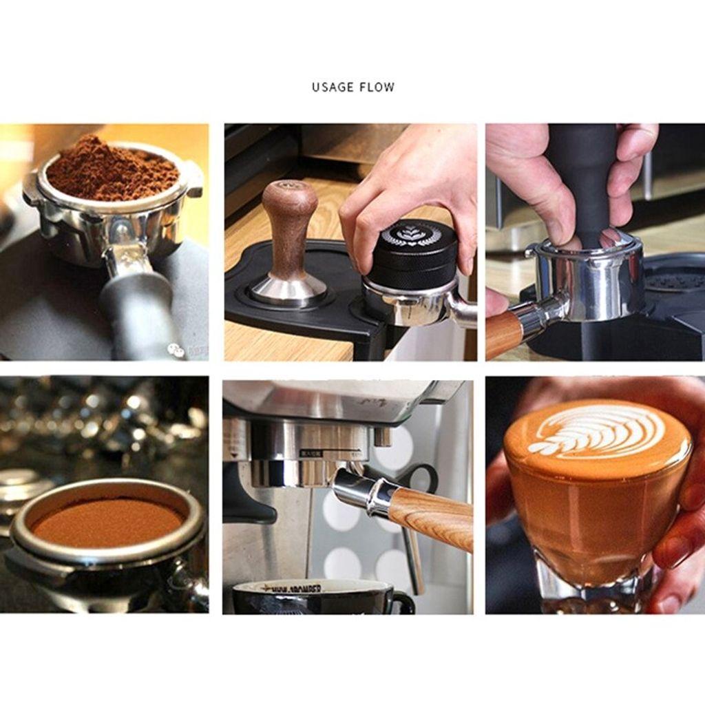 54mm Kaffee ohne Boden Portafilter for Breville 870//878//880 Filter Accessoires