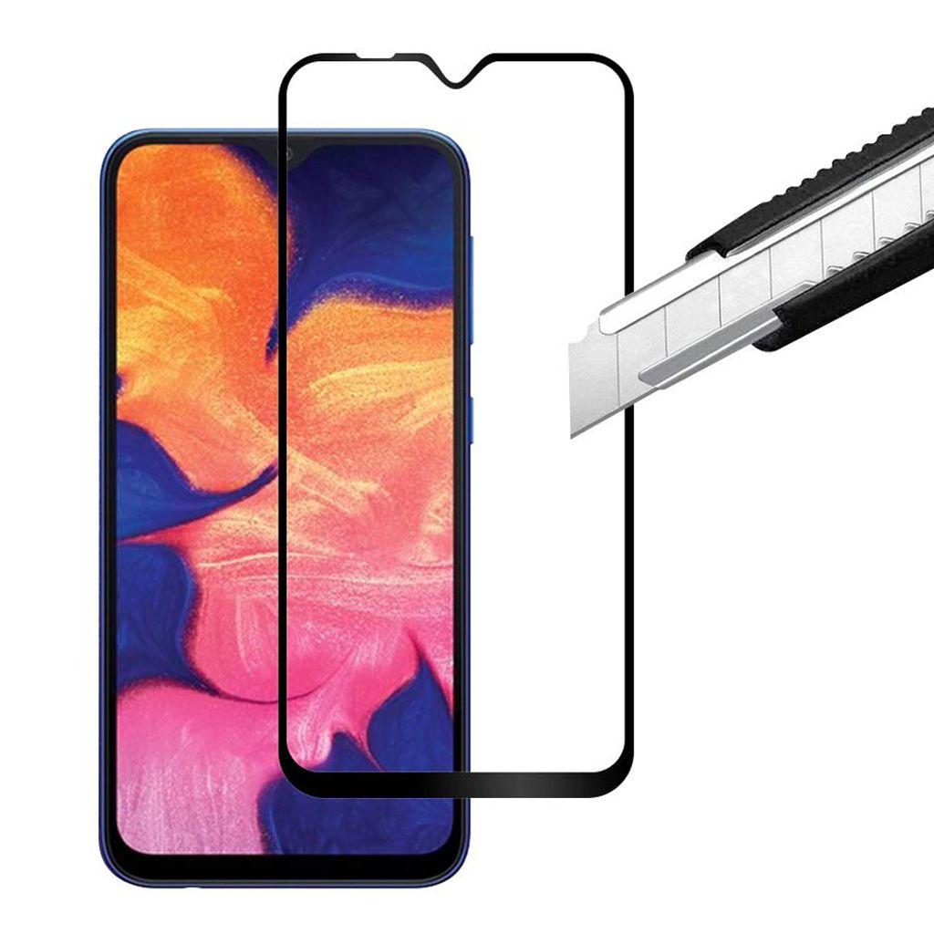 Samsung Galaxy A20 Panzerglas Schutzfolie Schutzglas Displayfolie  Panzerfolie Hart Glas Full Screen Echtglas Screen Protector Tempered Glas  Glasfolie ...