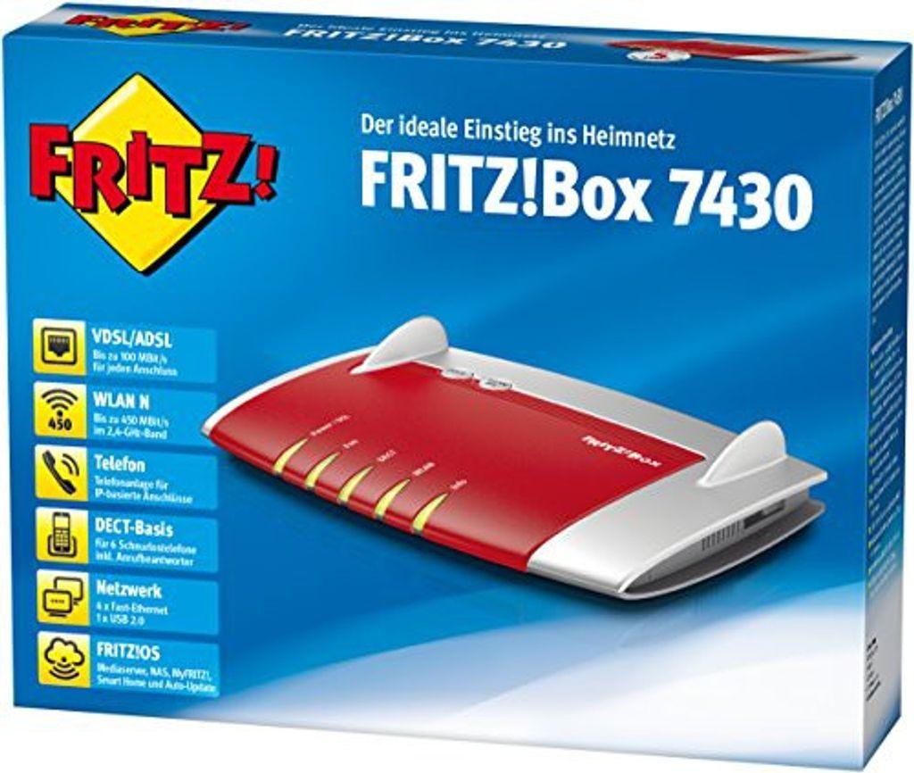 AVM FRITZBox 20 WLAN Router mit integriertem DSL Modem