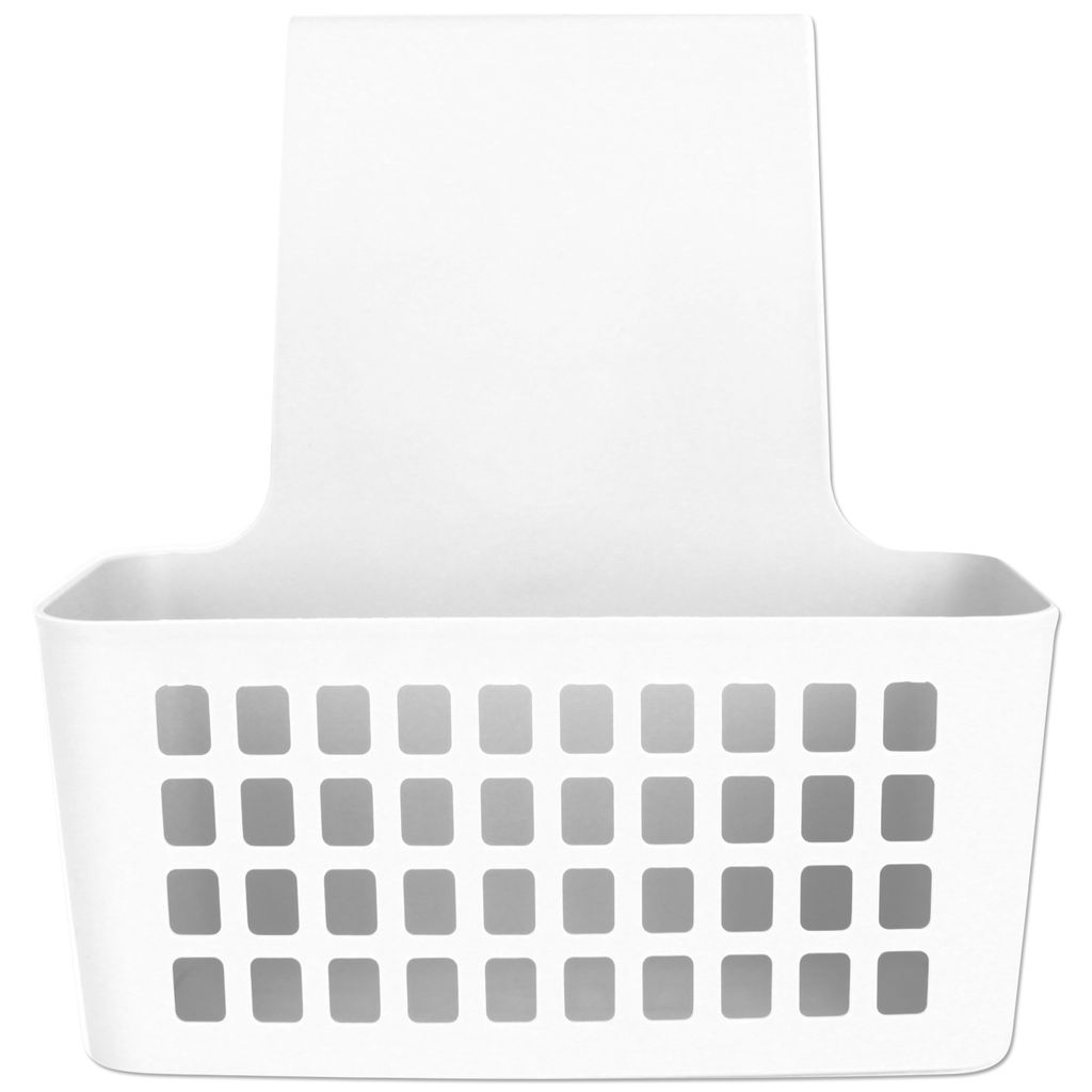 Hängekorb Kunststoff weiß Duschkorb zum hängen Bad Duschablage Körbchen  Badezimmer Universalkorb Duschregal Korb