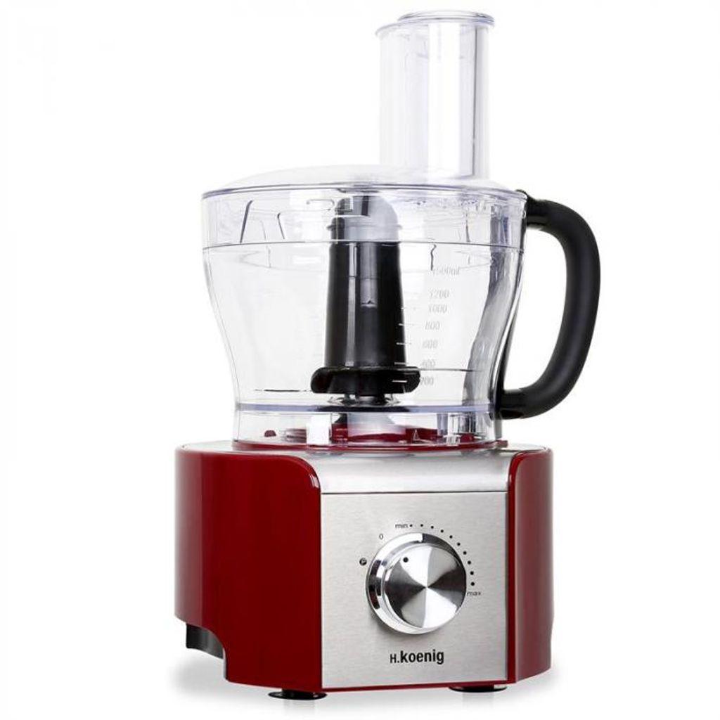 MX-18 Küchenmaschine 800W rot 8 Funktionen