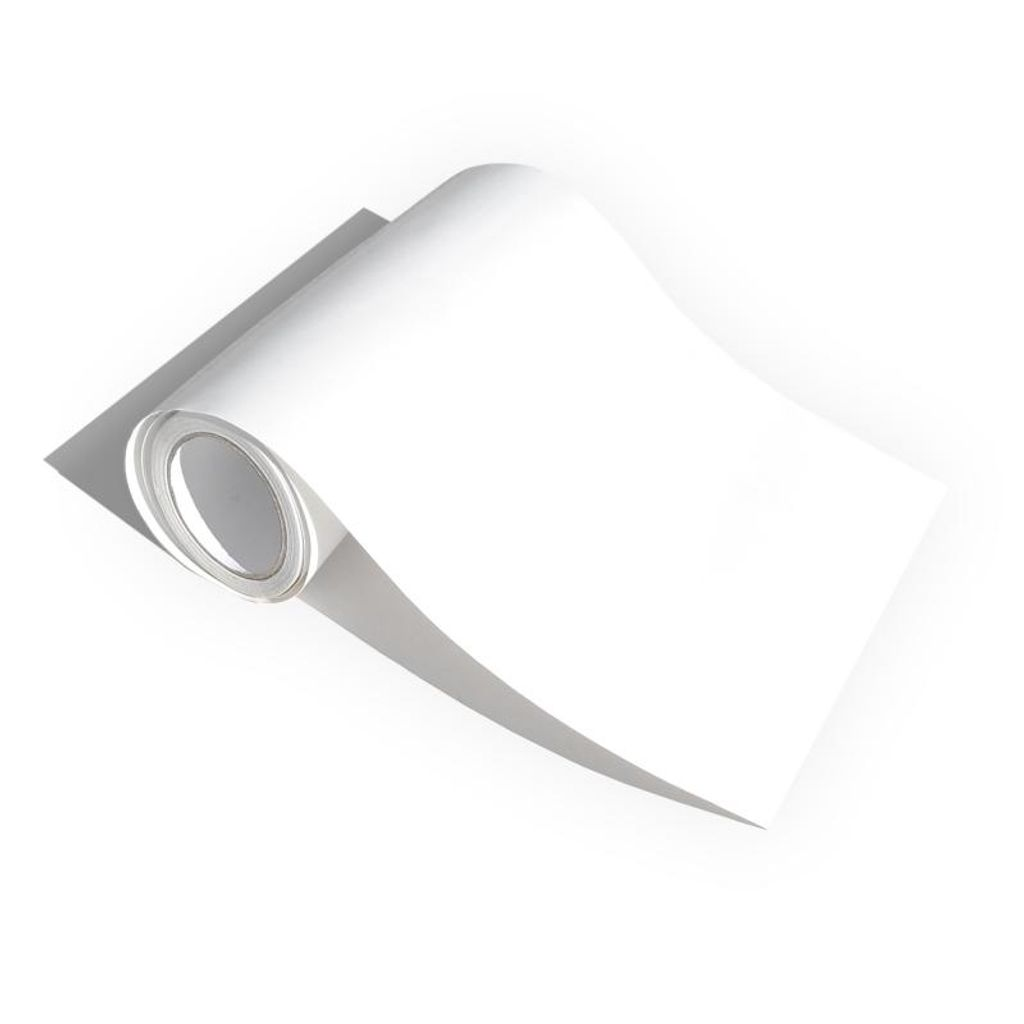 JOM Design Auto Folie weiß matt transparent Klebefolie selbstklebend 12x12