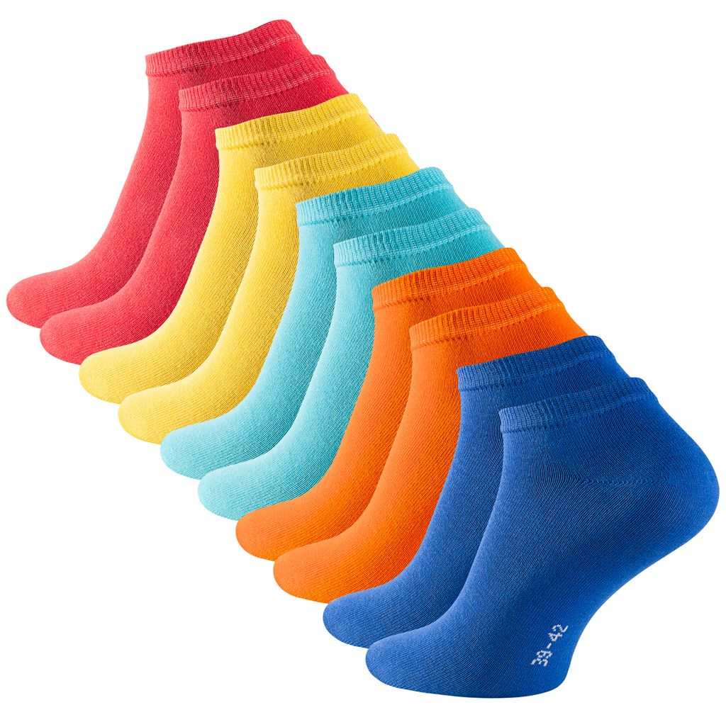 7 Paar Herren Jeans Socken 80/% Baumwolle schwarz super weich Sonderposten 43-46