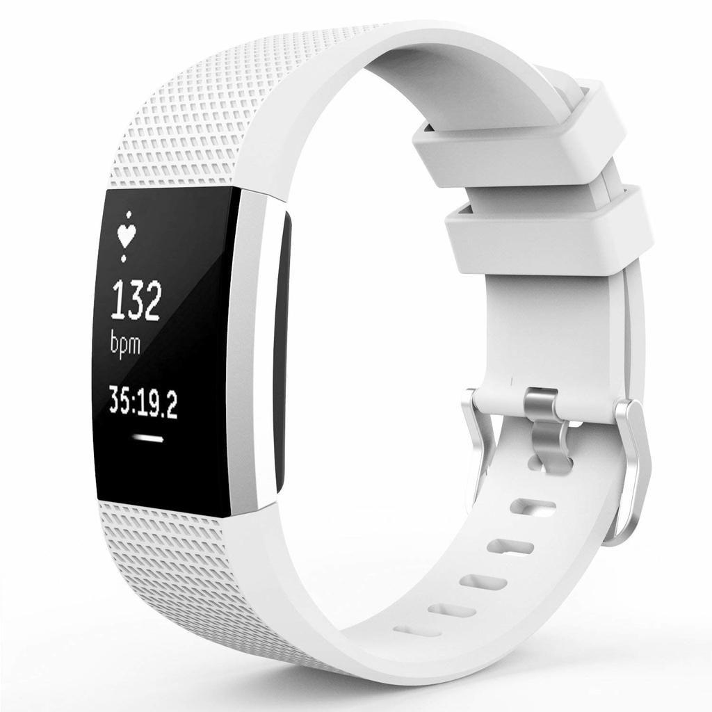 Uhrenarmband Armband Silikon Silikonband Ersatz Armband Band für Fitbit Charge 2