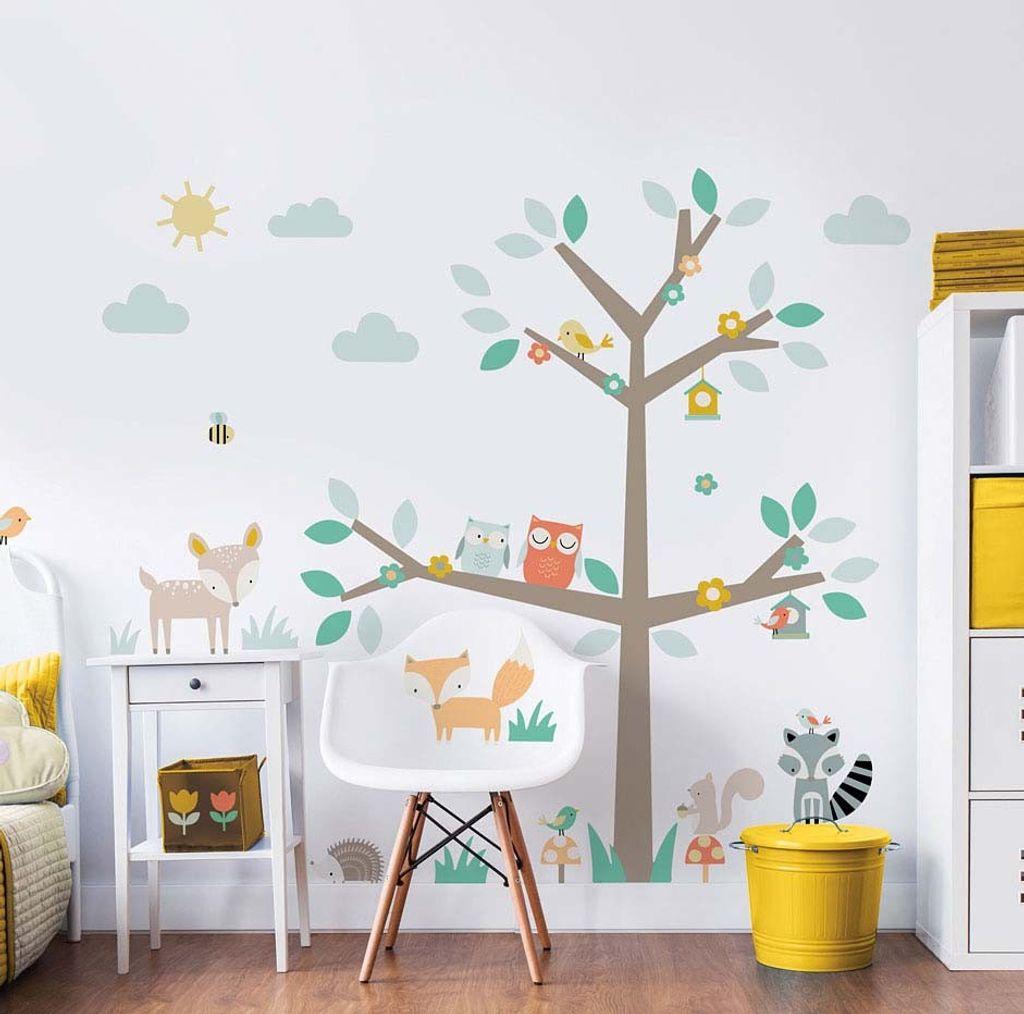 Dschungelfreunde RoomMates Wandtattoo Wandsticker Wandaufkleber Wandbilder