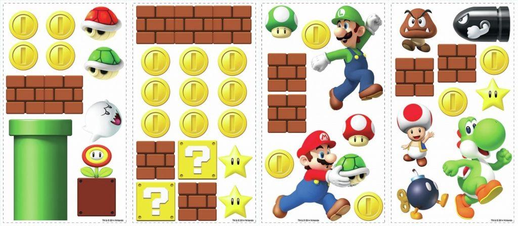 Buchstaben super mario Character Development